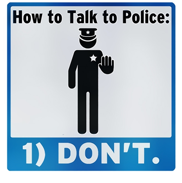 "The 5th Amendment: Why A... ""Don't Talk To Police"""