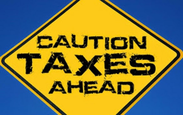 taxes-ahead-sign