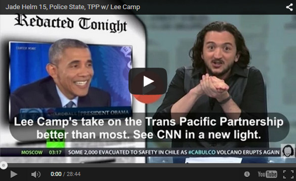 ISIS Leader Admits They Are Being Funded By The Obama Administration Lee-camp-yt
