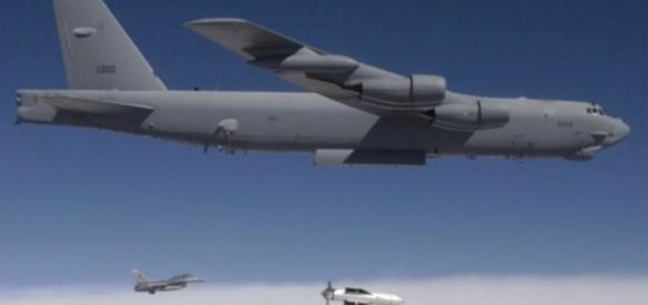 US Bomb Plane