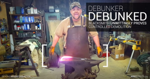 Viral 9/11 Truth-Debunking Blacksmith Gets It All Wrong