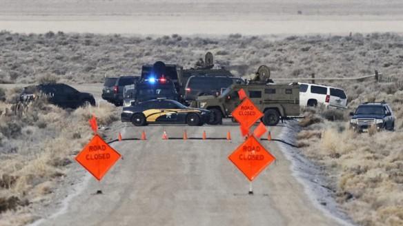 standoff road block