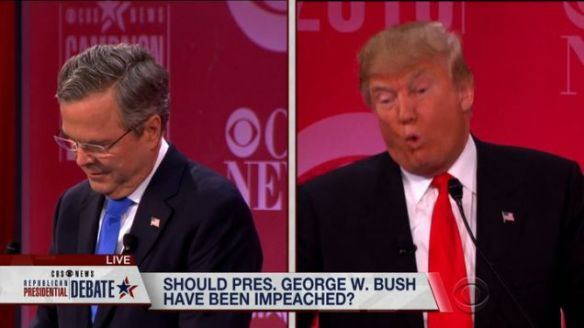 Trump Bush Lied